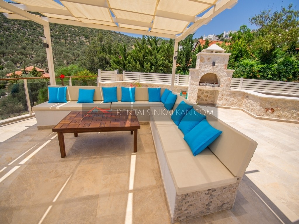 Villa Saray Rentals In Kalkan