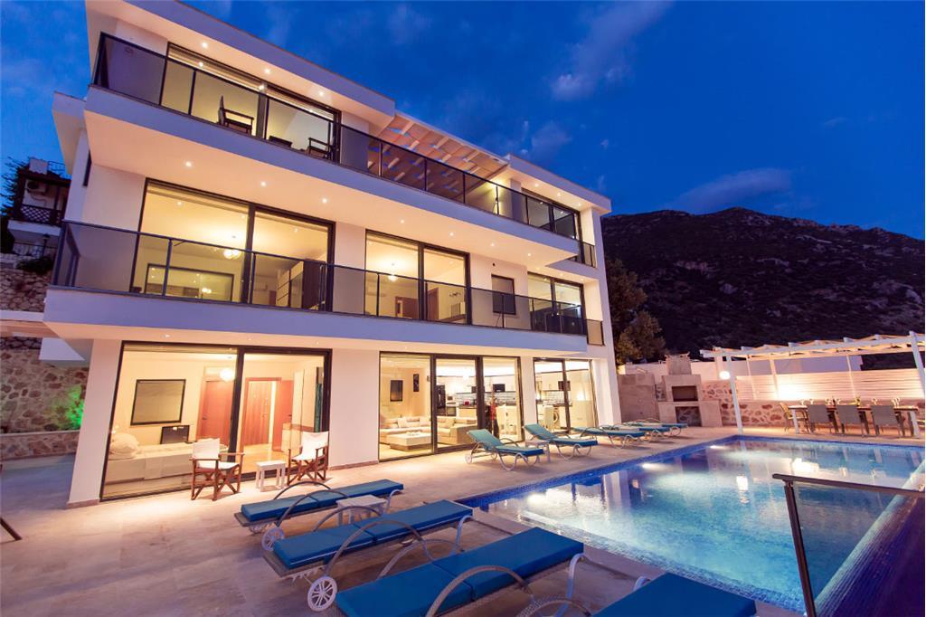 Villa dream house rentals in kalkan for Dream home rentals