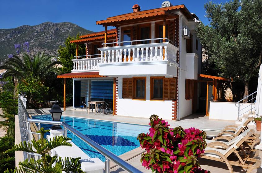 Villa Kalkan Seafront Rentals In Kalkan