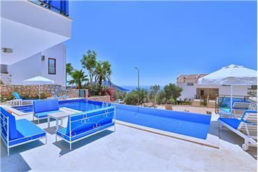 villa mavi tlos rentals in kalkan. Black Bedroom Furniture Sets. Home Design Ideas