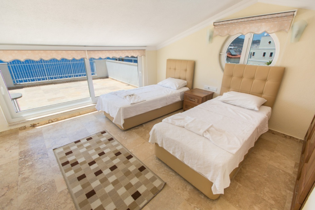 bedroom with pool villa berrak c rentals in kalkan 10772